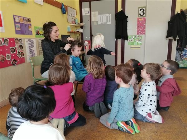 Gurasoak eskolan / Familias en el colegio